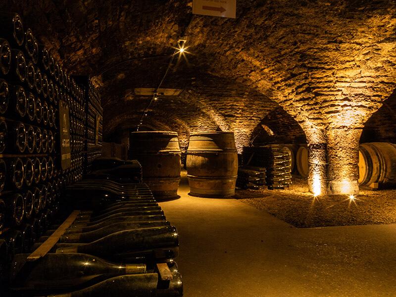 Cave de vins de Bourgogne