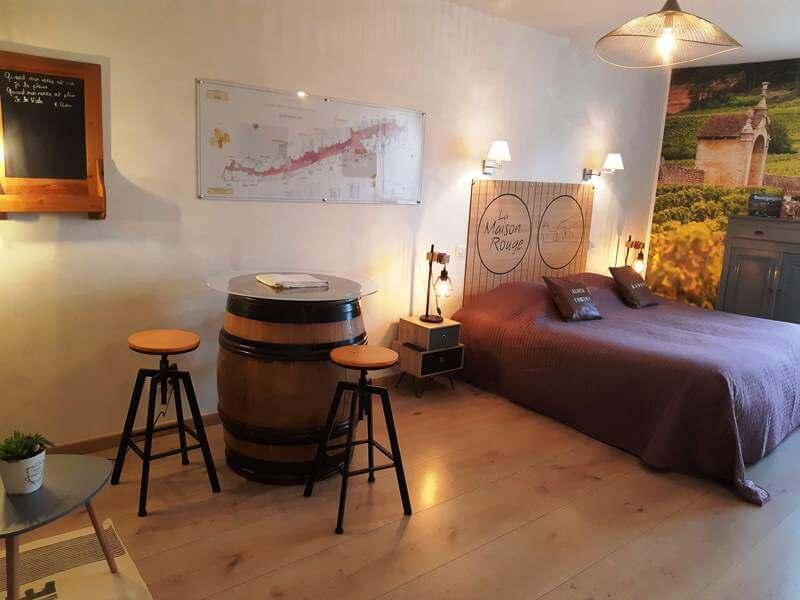 Grande chambre avec lit king size